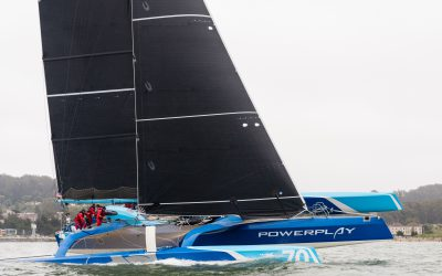 "New MOD70 Team: Peter Cunningham's ""Power Play Racing"""