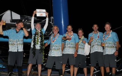 PowerPlay's TransPac Journey, As Told by the Skipper